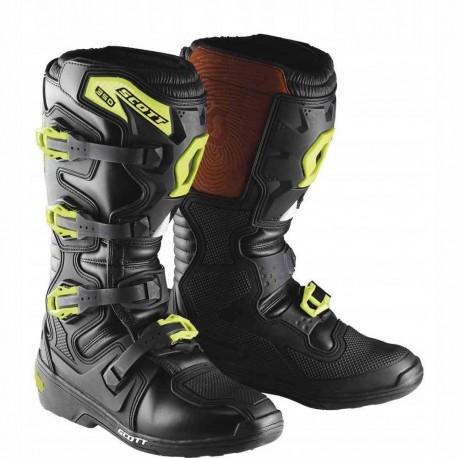 Buty SCOTT MX 350 BOOTS Black/Green