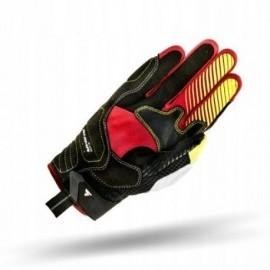Rękawice SHIMA Blaze czerwono-żółte fluo