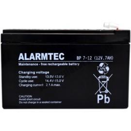 Akumulator AGM żelowy ALARMTEC BP 7-12 (12V 7Ah)
