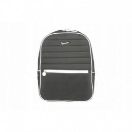Plecak nylonowy pikowany czarny Vespa
