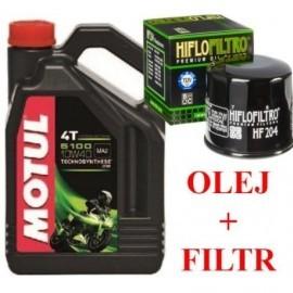 MOTUL Olej Filtr Hf_204 Yamaha YZF R1 R6 FJR1300