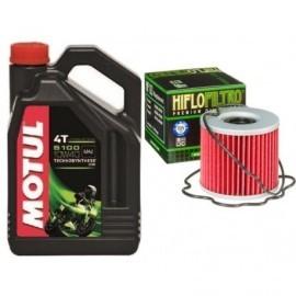 MOTUL zestaw olej filtr oleju HF_133 Suzuki GS500