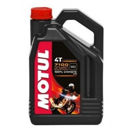 Olej syntetyczny MOTUL 7100 4T 20W50 ESTER 4L