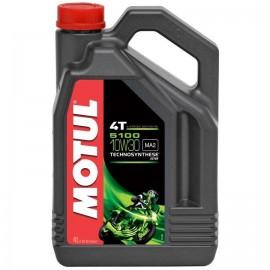 Olej półsyntetyczny MOTUL 5100 4T 10W30 ESTER 4L