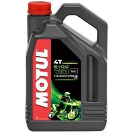 Olej półsyntetyczny MOTUL 5100 4T 10W40 ESTER 4L