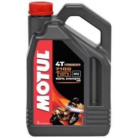 Olej syntetyczny MOTUL 7100 4T 15W50 ESTER 4L