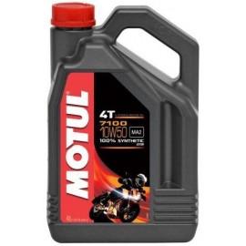 Olej syntetyczny MOTUL 7100 4T 10W50 ESTER 4L