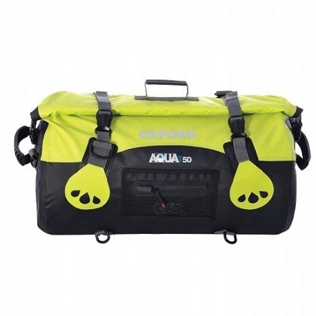 Torba (50L) Aqua T-50 Roll Bag OXFORD czarny/fluo