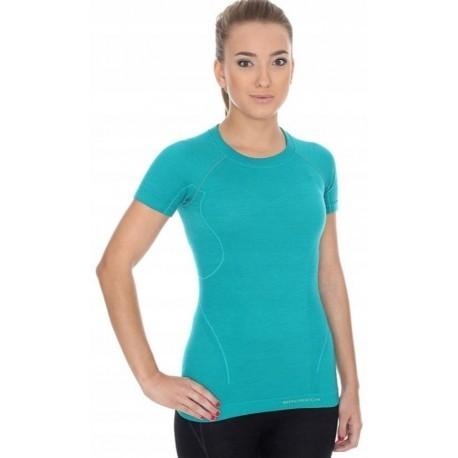 BRUBECK ACTIVE WOOL MERINO damska koszulka