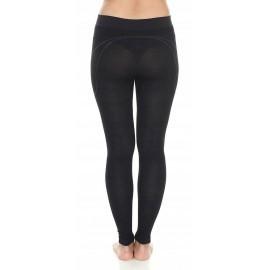 BRUBECK ACTIVE WOOL MERINO damskie spodnie czarne