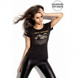 Choppers Division damska bluzka koszulka T-SHIRT Lady Biker