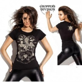 Choppers Division T-SHIRT Cross