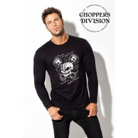 Choppers Division BLUZKA X-Skull