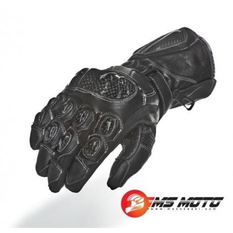 Roleff RO67 Sportowe Skórzane Rękawice Motocyklowe