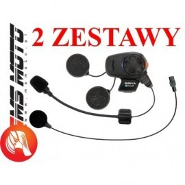 Sena Interkom Intercom Bluetooth SMH5 dual do 400m - 2 zestawy