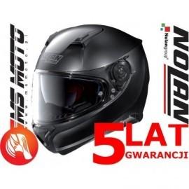 Nolan kask motocyklowy N87 Classic N-Com Flat Black Czarny Matowy