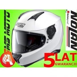 Nolan kask motocyklowy N87 Special Plus N-Com Pure White 15 biały Blenda