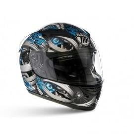 THH TS-80 Mummy integralny sportowy kask motocyklowy niebieski z blendą przeciwsłoneczną