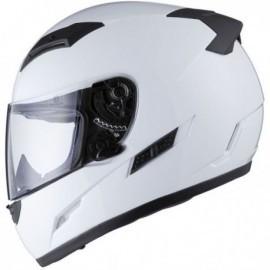 THH TS-80 integralny sportowy kask motocyklowy biały z blendą przeciwsłoneczną TS80