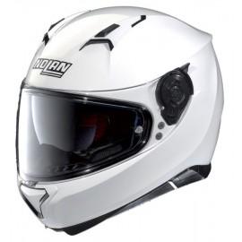 Nolan kask motocyklowy N87 Classic N-Com Metal White Biały