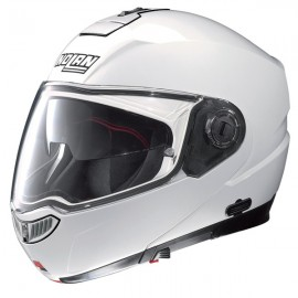 Kask NOLAN N104 EVO CLASSIC N-COM Metal White 5