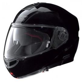 Nolan Kask Motocyklowy N104 EVO Classic N-COM Glossy black 3 Czarny Połysk