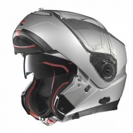 Nolan kask motocyklowy N104 Absolute Classic N-Com Platinum Silver srebrny