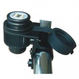 4Ride motocyklowe gniazdo zapalniczki ładowarka 12V USB 5V z uchwytem ERCL06