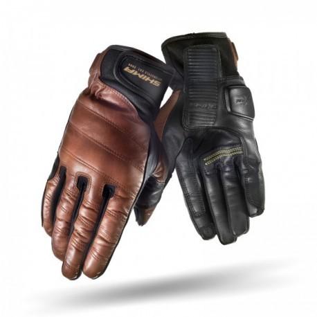 Shima Revolver brązowe męskie rękawice motocyklowe