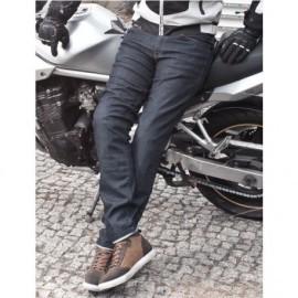 Shima Tarmac Raw Denim spodnie jeansy motocyklowe granatowe