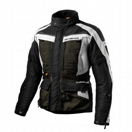 Shima Horizon męska kurtka motocyklowa khaki