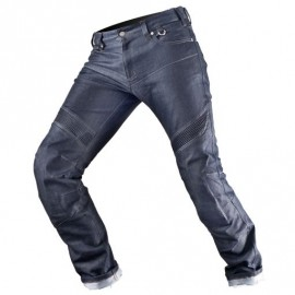 Shima Gravity spodnie jeansy motocyklowe niebieskie model 2017