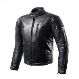 Shima HUNTER męska skórzana kurtka motocyklowa czarna