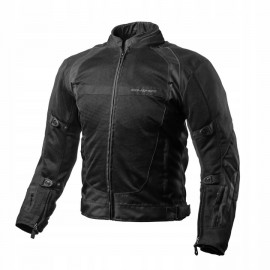 Shima X-MESH męska kurtka motocyklowa czarna