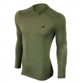 Bluzka tshirt termoaktywna FURY ARMY LS Military