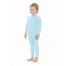 Brubeck Błękit Spodnie Dziewczęce THERMO