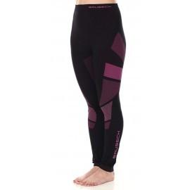 Brubeck Dry spodnie damskie z długą nogawką LE11850 czarny amarant