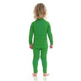 BRUBECK Getry + Bluzka Chłopięca THERMO zielony