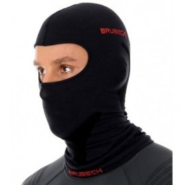 Brubeck kominiarka termoaktywna bawełniana bezszwowa KM10370 czarna