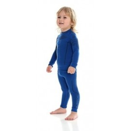 Brubeck Niebieska Bluza Chlopięca THERMO
