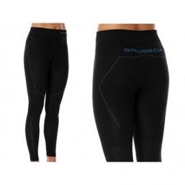 BRUBECK THERMO spodnie TERMOAKTYWNE NARTY czarne
