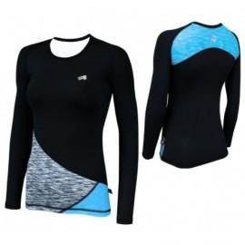 Damska koszulka bluza termoaktywna fitness