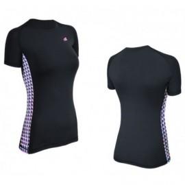 Damska koszulka termoaktywna siłownia Fitness