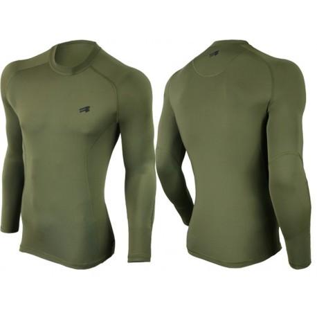 Koszulka bluzka termoaktywna khaki wojskowa