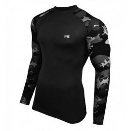 Koszulka termoaktywna FURIOUS ARMY LS czarna