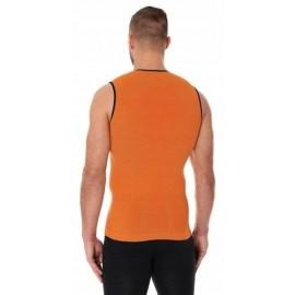BRUBECK 3D Run PRO bezrękawnik męski pomarańczowy