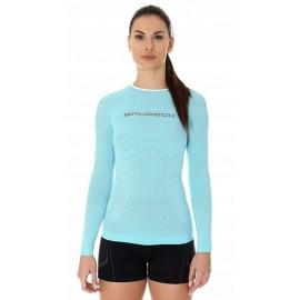 BRUBECK 3D Run PRO bluzka damska błękitna