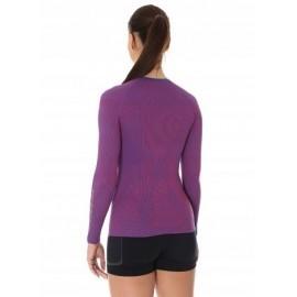 BRUBECK 3D Run PRO bluzka damska purpurowy