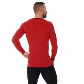 BRUBECK 3D Run PRO bluzka męska czerwony