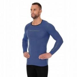 BRUBECK 3D Run PRO bluzka męska niebieski